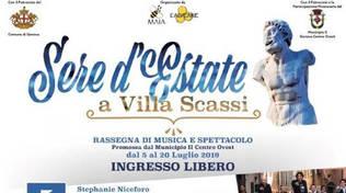 Sere d'Estate a Villa Scassi