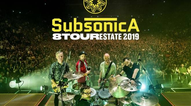 Subsonica tour 2019