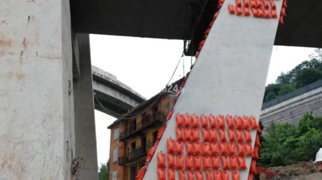 Tecniche mitigazione esplosione ponte Morandi