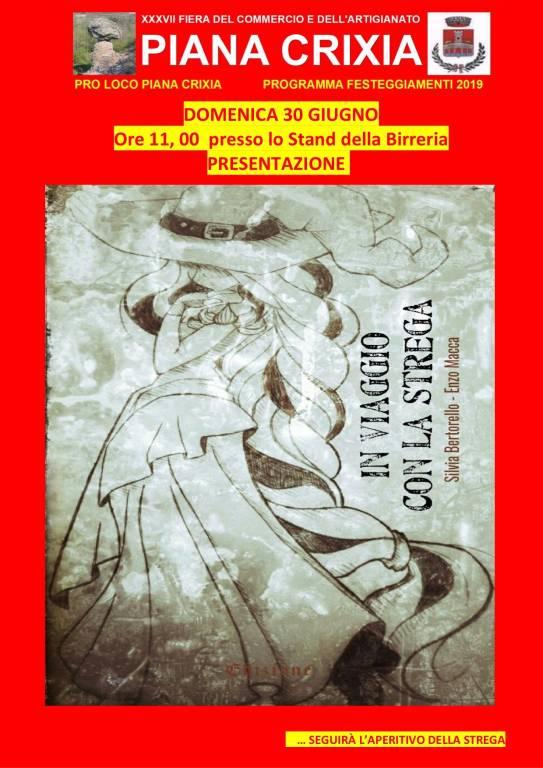 """""""Terre di streghe"""" e """"In viaggio con la strega"""" libri Piana Crixia"""