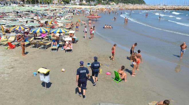 Andora Polizia Locale Municipale Spiaggia