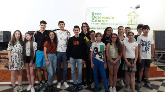 Liceo Calasanzio Premiazione Giochi Matematici