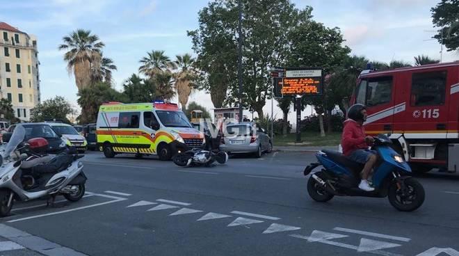 Incidente Savona Corso Vittorio Veneto