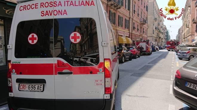 Croce Rossa Vigili Fuoco savona