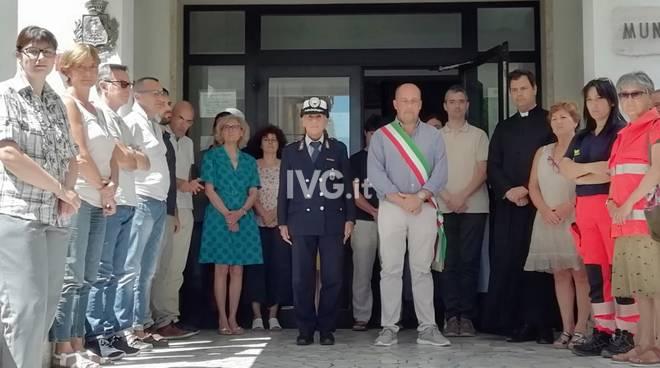 A Laigueglia e Alassio un minuto di silenzio in memoria di Mario Cerciello Rega
