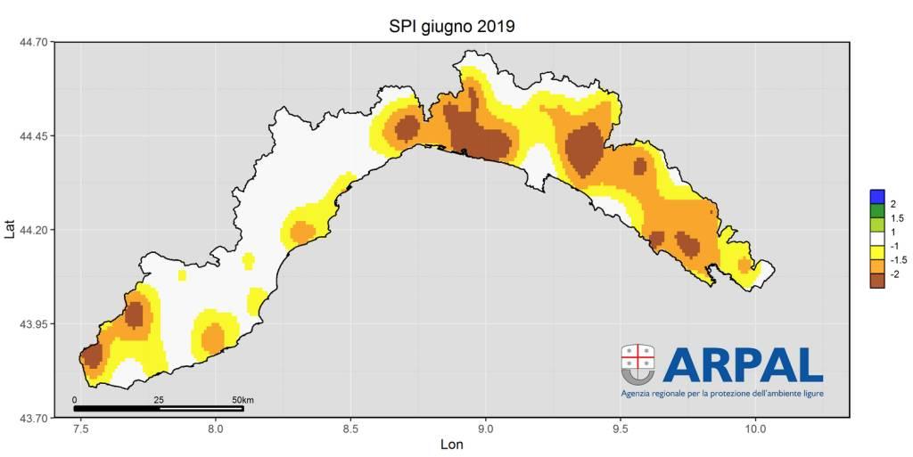 analisi clima giugno arpal