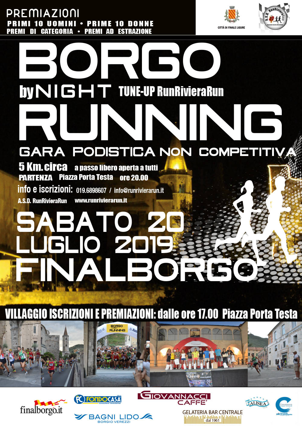 Borgo by Night Running a Finalborgo