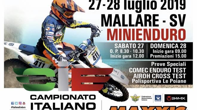 Campionato Italiano Minienduro, Round 3 a Pallare