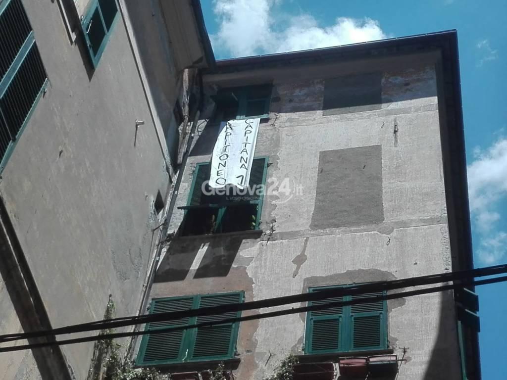 capitone capitana salvini a Genova