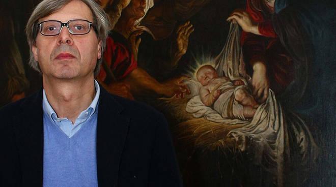 """Vittorio Sgarbi racconta \""""L\'arte negli occhi\"""" a Palazzo Ducale"""