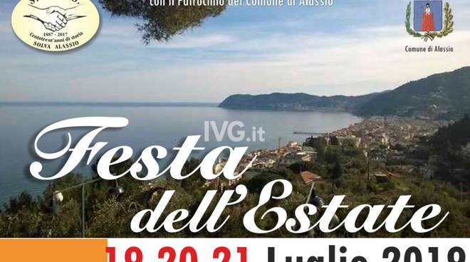 Solva (Alassio): domil prossimo week-end la Festa dell'Estate