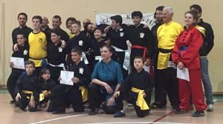 Esami e stage finale per il Kung Fu Touei Chou della Polisportiva