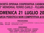 """Domenica a Cadibona (Quiliano) il 32° Memorial Ferro Carlo \""""Fulmine\"""""""