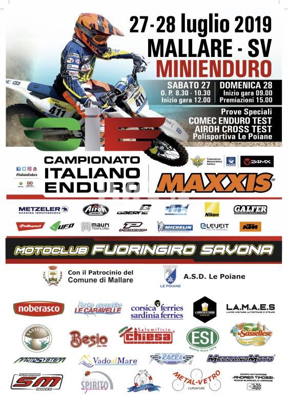 Italiano Minienduro - Round 3 a Pallare