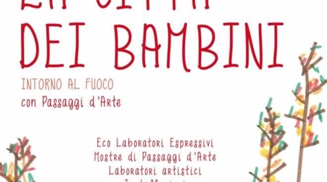 """Nel weekend Sassello si trasforma ne """"La Città dei Bambini – Intorno al Fuoco"""""""