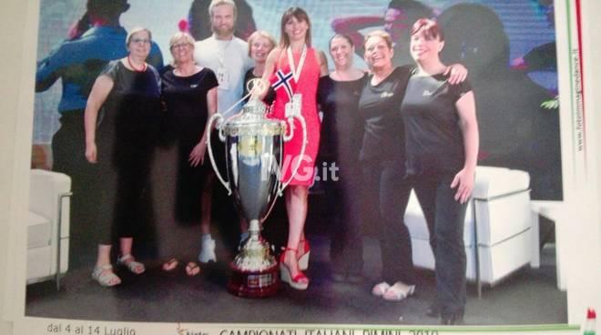 Ai Campionati Italiani di Rimini bronzo per le Ladies danzanti