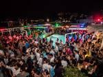 "Soleluna Village, evento \""Cocoon\"", dj Marco Ooki,vox Mattia Salva, cena sul mare, discoteca a bordo piscina"