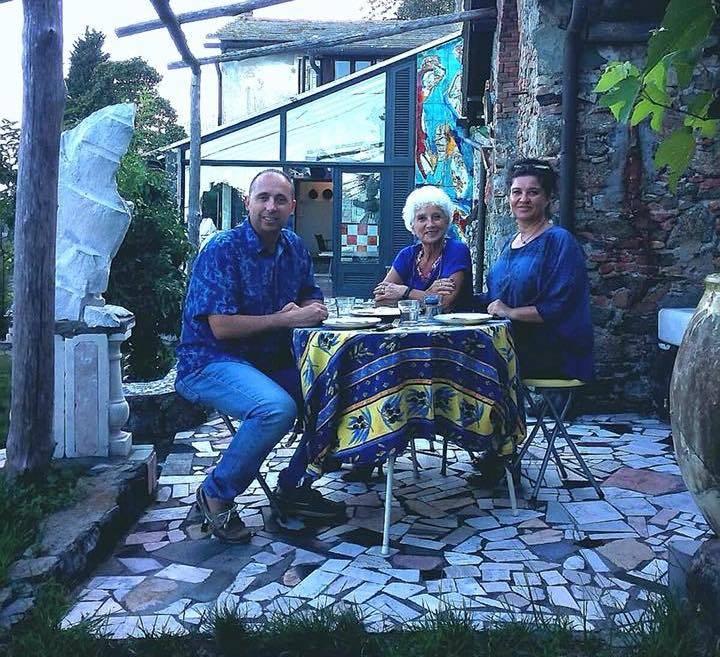 Cena sulla Tavolozza Casa Museo Jorn Albissola Marina