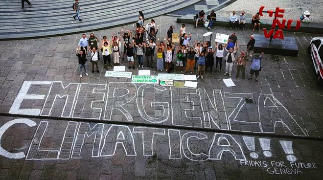 emergenza climatica fridays for future