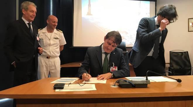 firma genoa blue agreement