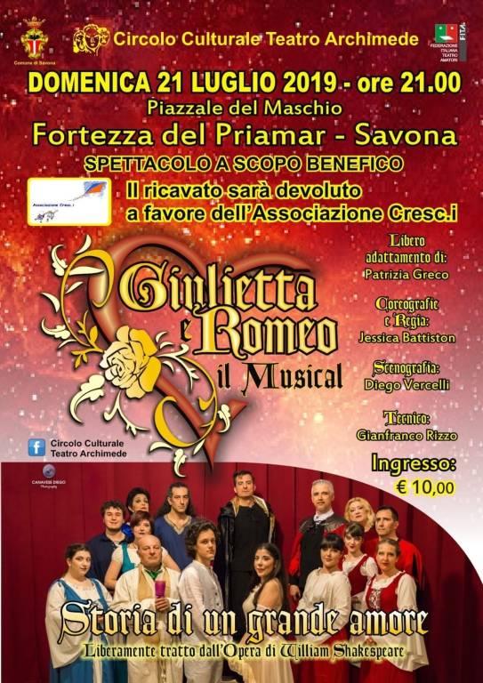 """""""Giulietta e Romeo"""" Circolo Culturale Teatro Archimede Savona"""