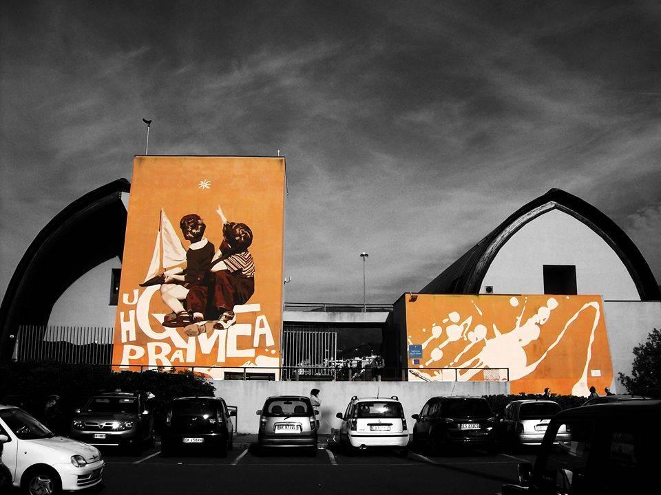 Gli artisti di On The Wall a Certosa