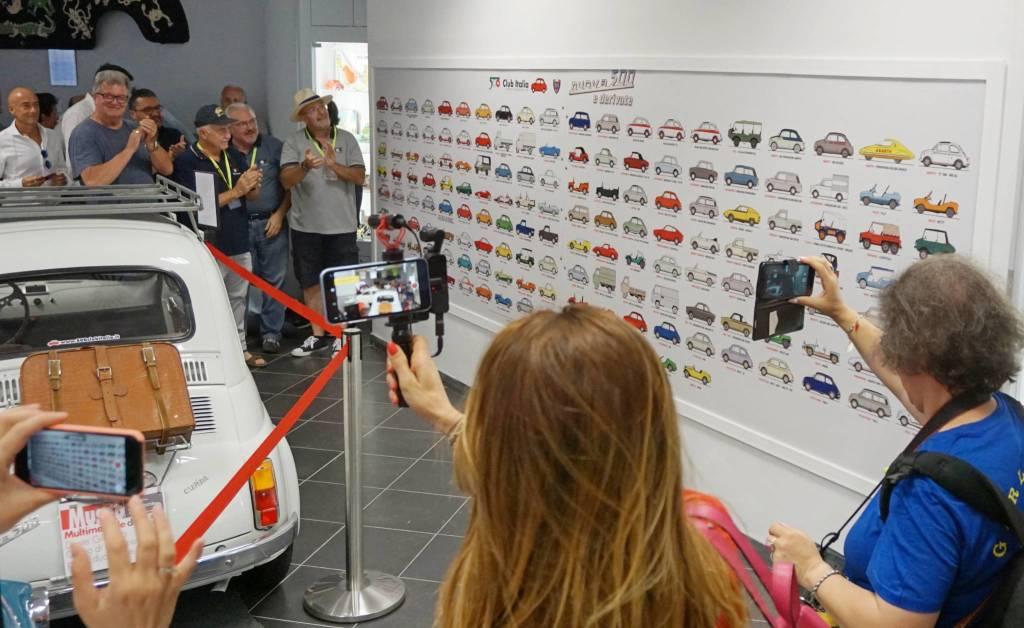 II 36^ Meeting Internazionale della Fiat 500 di Garlenda