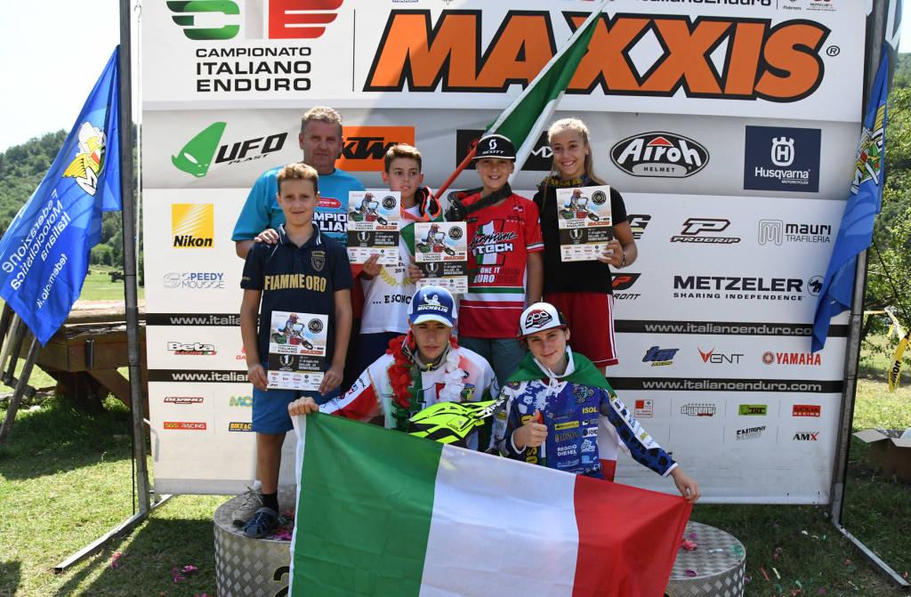 Il campionato italiano Minienduro a Mallare