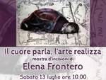 """""""Il cuore parla, l'arte realizza"""" mostra incisioni Elena Frontero Quiliano"""