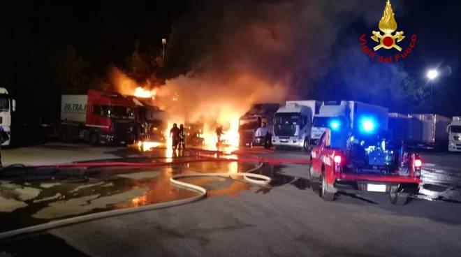 incendio camion