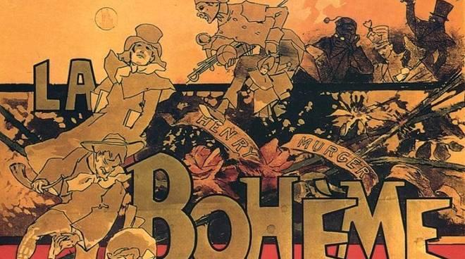 """La Bohème"" locandina storica"