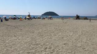 La spiaggia del Jova Beach Party ad Albenga