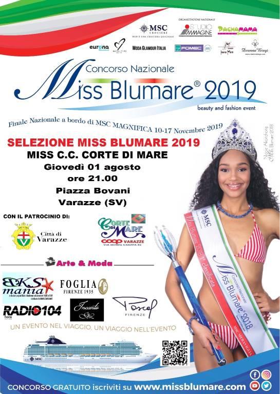 Miss BluMare 2019 Varazze