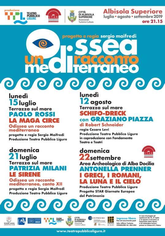 """""""Odissea - Un racconto mediterraneo"""" 2019 Albisola Superiore"""