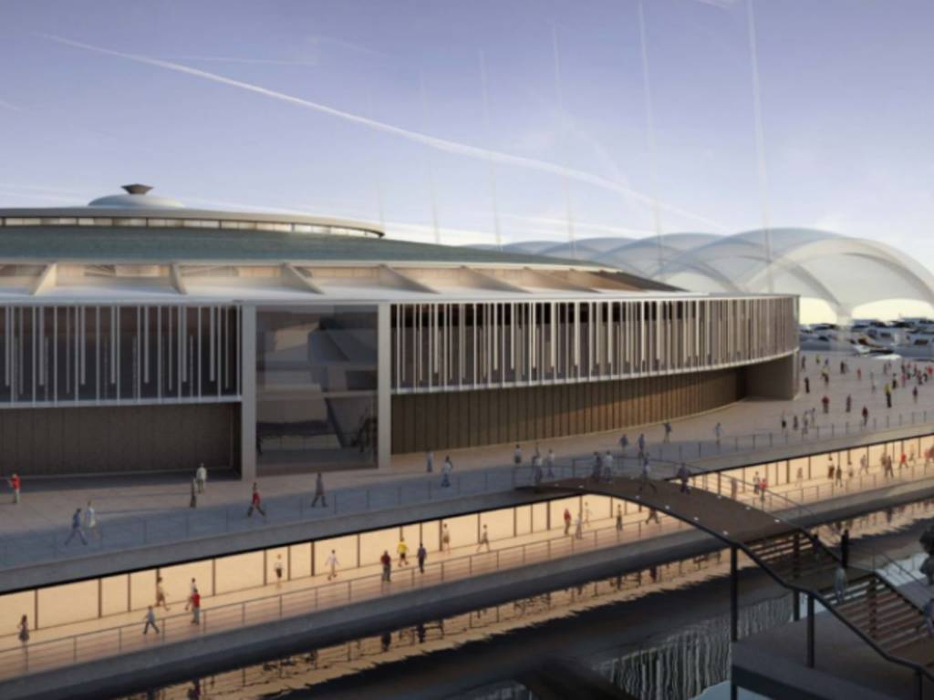 Palasport progetto restyling