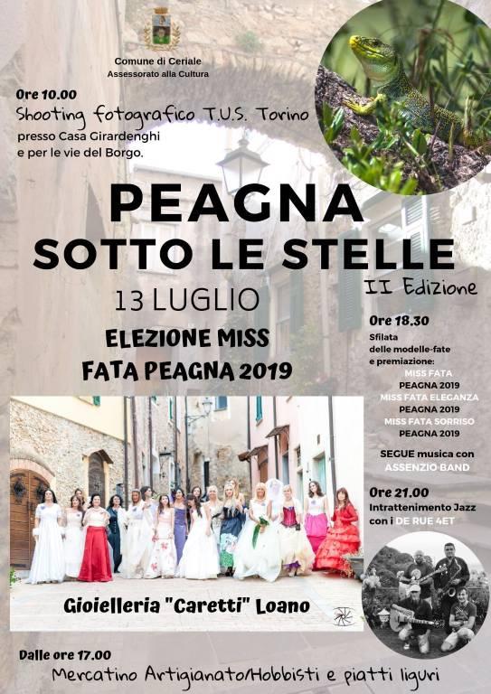 """Peagna sotto le stelle"" 2019 Ceriale"