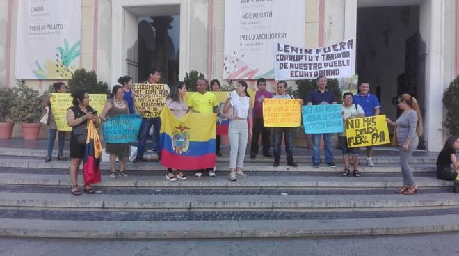 protesta ecuador