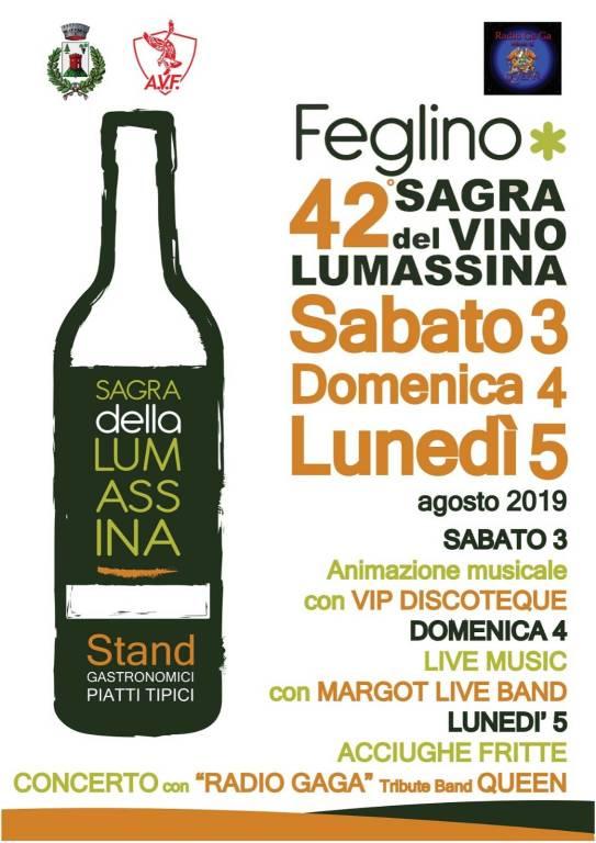 Sagra del Vino Lumassina a Feglino