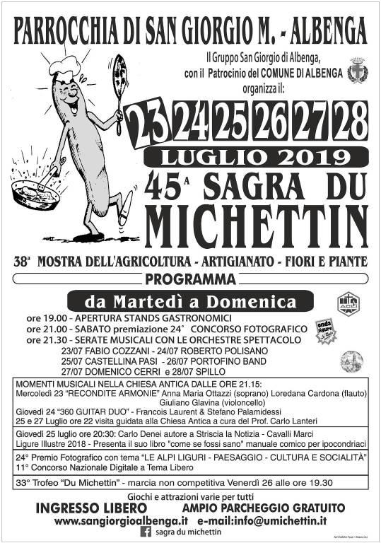 Sagra du Michettin a San Giorgio d'Albenga