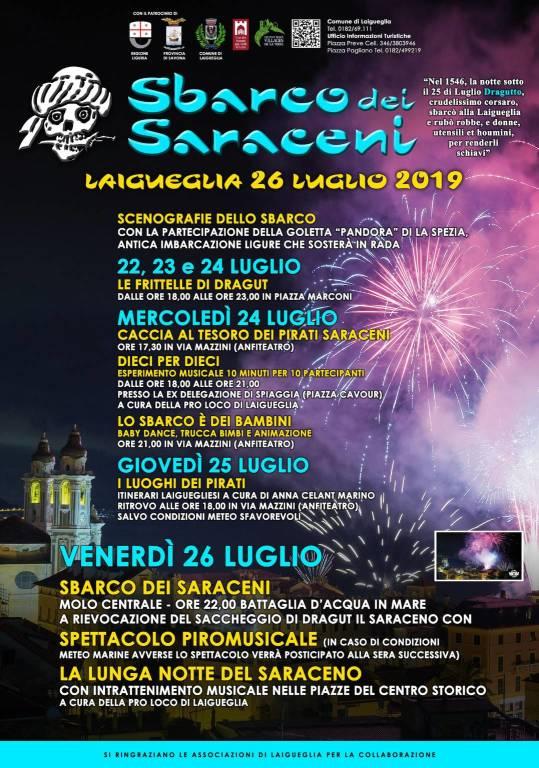 sbarco saraceni 2019