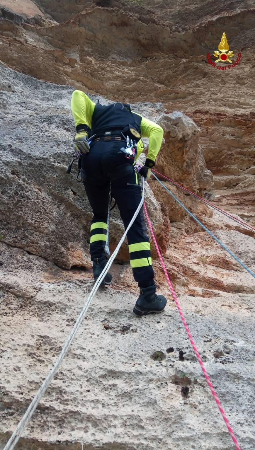soccorso elisoccorso parete arrampicata