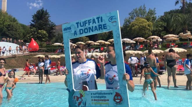 """""""Tuffati a donare"""", le foto dell'evento alle """"Caravelle"""" di Ceriale"""