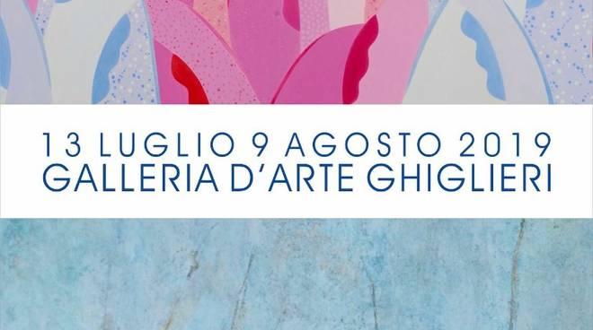 """""""Un dialogo a due sull'astrazione"""" mostra Bruno Gorgone e Carlo Introvigne Finale Ligure"""