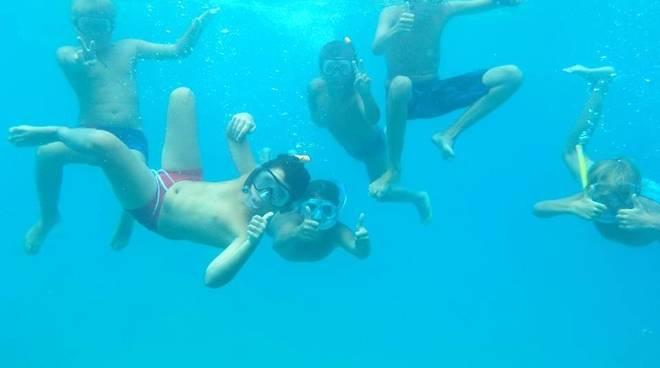 """""""Un tuffo nel blu"""" campo estivo snorkeling Albissola Marina"""