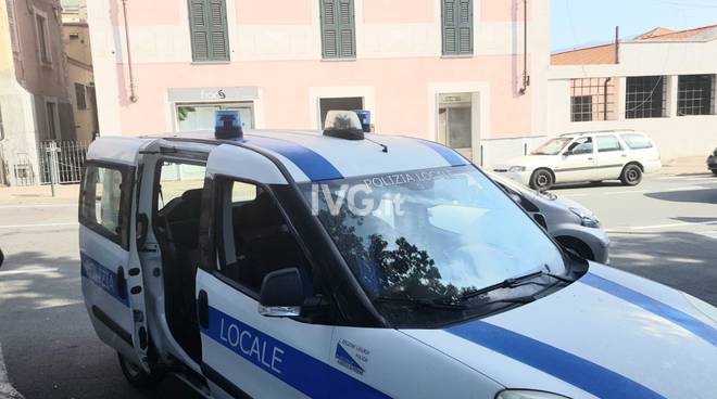Polizia Municipale Albisola Incidente