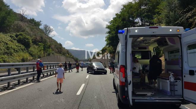 Incidente A10 Savona Spotorno