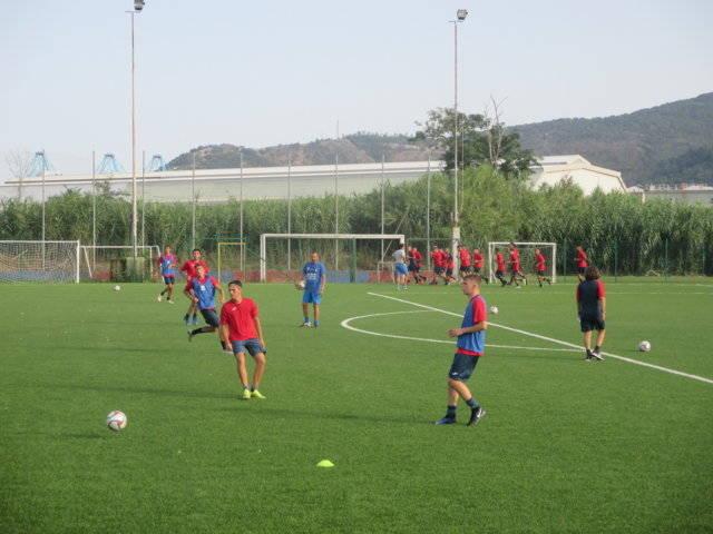 Calcio: la Juniores del Vado al lavoro