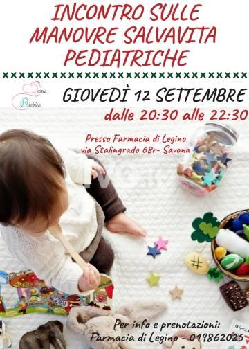 Incontro sulle Manovre Salvavita Pediatriche