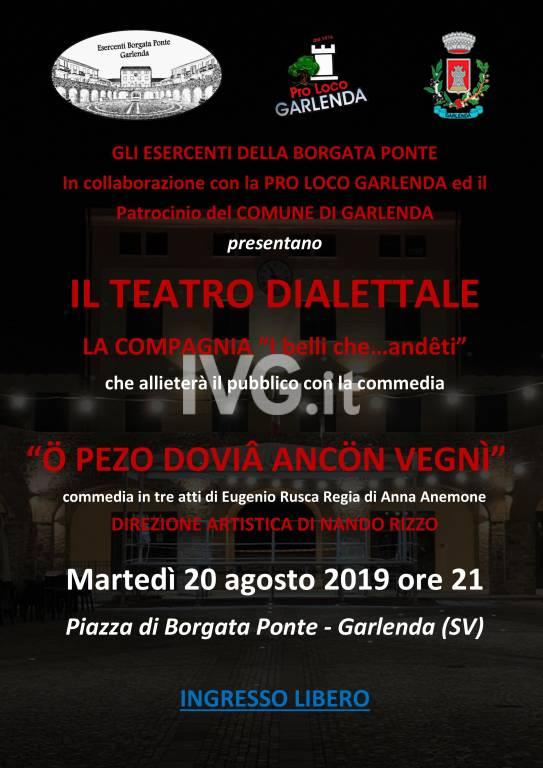"""Teatro Dialettale \""""Ö Pezo Doviâ Ancön Vegnì\"""""""