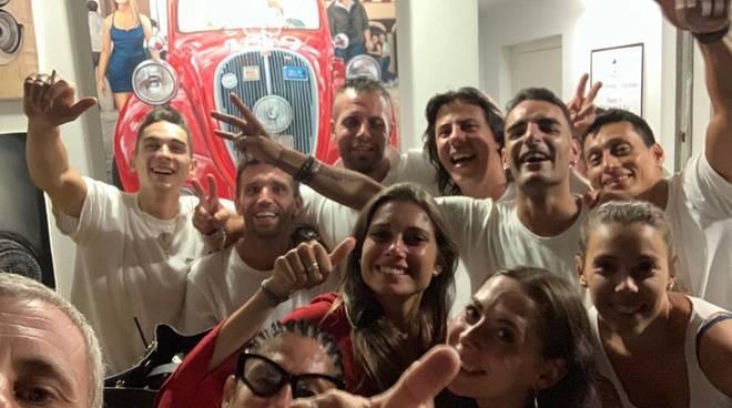 Baccano Beach Club,Party La Soirée, evento-cult della nightlife genovese, in consolle Dj Carrara
